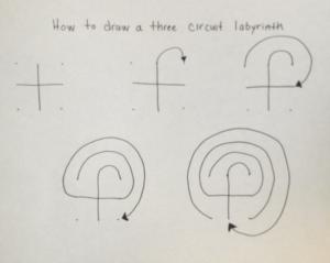 Labrynth Drawing