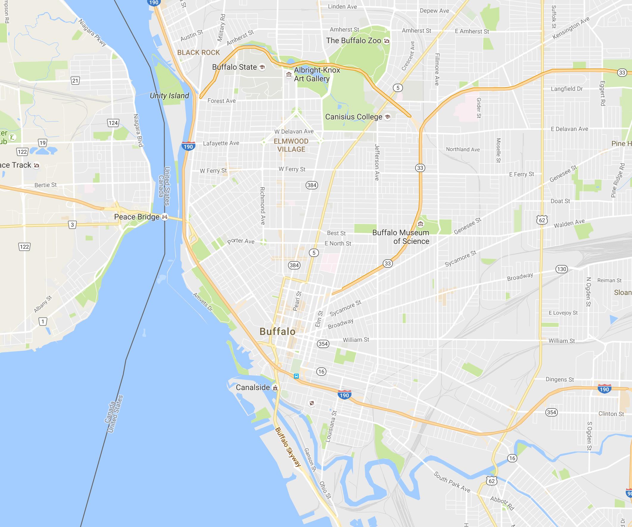 HPU Strata-Walks (Buffalo version) – the city-image