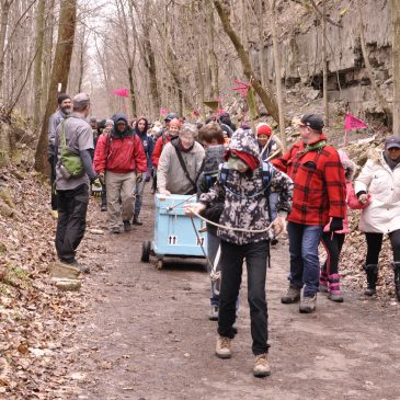 70+ People on The Bruce Trail Stone Walk: Queering the Trail