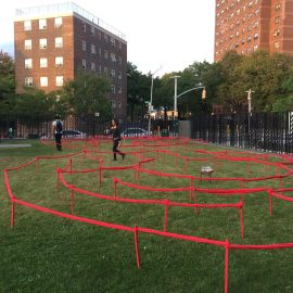 The Red Line Labyrinth