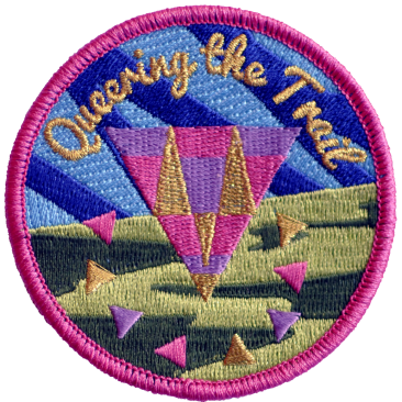 Queering the Trail Artwork by Mary Tremonte