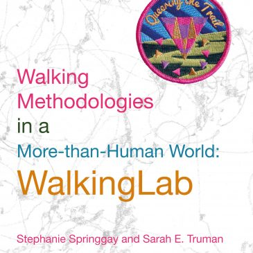 WalkingLab's book is released by Routledge!