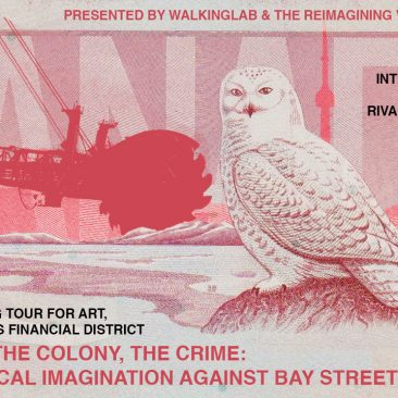 Call for Participants: Walking Tour in Toronto's Financial District