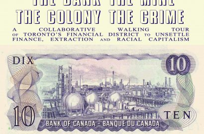 Launch for Audio Version of The Bank The Mine The Colony The Crime