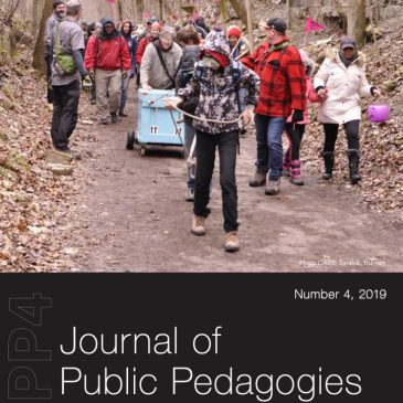 Journal of Public Pedagogies Special Issue